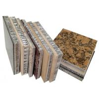 China Stone honeycomb panels for facade wall envelope,lightweight stone panels for curtain wall envelope wholesale