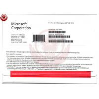 China Win 10 Pro OEM Software Windows 10 Product Key Code 64 Bit English Language With DVD wholesale