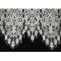 "Buy cheap Off White Scalloped Edge Soft Raschel Eyelash Lace Trim 1.5 Meters Length 60"" from wholesalers"