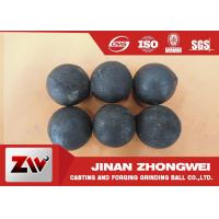 China No Breakage Grinding Steel Balls for mining and Cement / steel mill media wholesale
