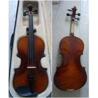 China Classic Decorative Flamed Maple Popular Handmade Violin 4/4 Size AGV-2 wholesale