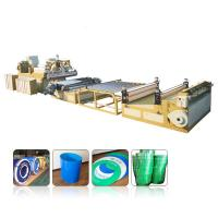 Multilayer PP PE PC ABS Pvc Sheet Extrusion Line 0.2mm-12mm Thickness Range