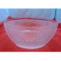 China Customized Food-grade 100%  Clear Acrylic Bowl For Fruit Salad wholesale