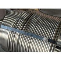 China Durable Stainless Steel Coiled Tubing 20ft Length Stainless Steel Heating Coil wholesale