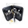 China High Grade Portable PU Bag, Professional Makeup Brush Set, 29 Pcs Great Makeup Brushes wholesale