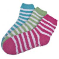 Buy cheap small stripe pattern,Aloe Infused SPA Socks polyester plush therapy spa sock product