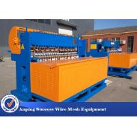China 3mm - 6mm Mesh Size Fence Welding Machine Production Line For 220 V wholesale