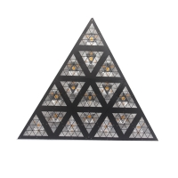 Buy cheap Triangle Stage Light RGB Effect Light Matrix Light Event Background Effect Light from wholesalers