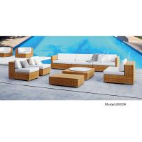 China outdoor sofa furniture rattan modular sofa --9003 wholesale
