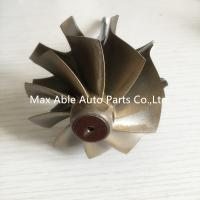 China T04E 65.8/74.17mm turbine shaft&wheel /turbo wheel /turbo shaft for turbocharger wholesale