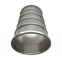 China SS304L Wedge Wire Continuous Slot Water Well Screens For Water Well Drilling wholesale