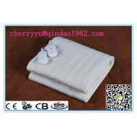 China 220V-240V Polyester 160*140 cm Qindao Electric heating Blanket With CE CB GS Rohs EMC Certificate Approval on sale