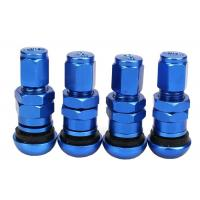 China Aluminum Alloy Metal Car Tire Valve Caps Direct Screw - On Easy To Install wholesale