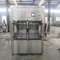 China Precision Olive Oil Filling Machine And Capping Machine With Labeling Machine wholesale