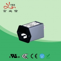China Yanbixin Waterproof Electrical Line Noise Filter Low Pass 10A 120V 250VAC wholesale