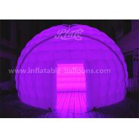China 5M 420D Oxford Cloth Inflatable Event Tent LED Dome Tent With Remote Controller wholesale