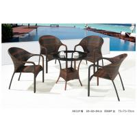 China 2014 pe rattan wicker coffee table chair outdoor sets wholesale