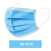 China Breathable Disposable Surgical Face Masks 3 Ply  With Elastic Ear Loop wholesale