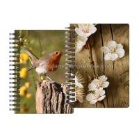 China Spiral  Animal Design 3 D Lenticular Notebook 3D Stationery for Children wholesale