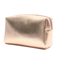 China Fashion Cosmetic Leather Golden Promotional Gifts Bags wholesale