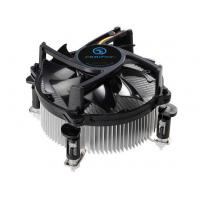 China Low Profile CPU Cooler Fans LGA 775 with Copper Base , Aluminum Extrusion fin wholesale