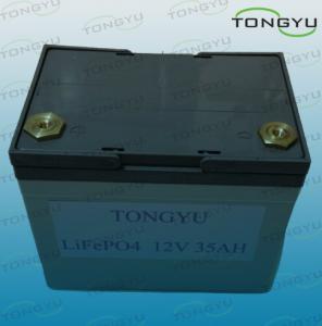 China Li-ion Wind / Solar Energy Storage Battery 12V 35Ah for UPS Backup Power on sale