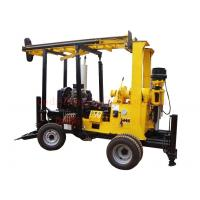 China 600M Trailer Mounted Borehole Water Well Drilling Rig With 75-600mm Drilling Capacity wholesale