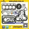 China Kubota V1702 V1702BA engine rebuild parts piston +ring+full gasket kit with head gasket for BOBCAT CLART 743 SKID LOADER wholesale