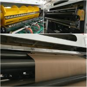 China Fully Automatic Paper Cutting Machine / Paper Sheeting Machine 1400mm wholesale