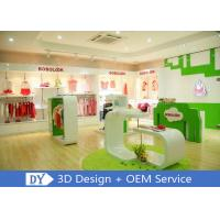 China Modern Fashion Kid Clothing Store Interior Design With Custom Size Color Logo wholesale