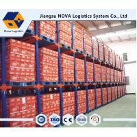 China Double Entry Powder Coating Drive In Pallet Racking For Raw Materials wholesale