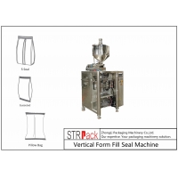China 50g - 1500g Pillow Bagger Packing Machine 1l Edible Oil Packaging Machine With Piston Filler For Viscous Liquid wholesale