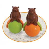 China Speakers Tumbler Toy Sound And Light Ball Bear with LED Light Sound and light wholesale
