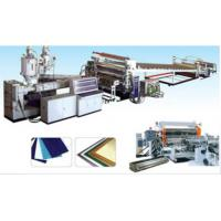 Quality 250Kw Plastic Sheet Making Machine For Roof Sunlight Panel Produce for sale