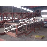 China SGS Industrial Steel Buildings For Towers Chutes Conveyor Frame / Material Handling Equipment wholesale