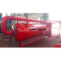 Quality Aipu solids control APMGS mud gas separator for sale used in fluids system for sale