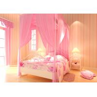 Buy cheap Lovely Embossed Kids Bedroom Wallpaper , Colorful Childrens Striped Wallpaper from wholesalers