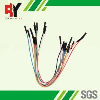 China Male Female Jumper Wires Breadboard , Multi - Color Jumper Cable Wire on sale
