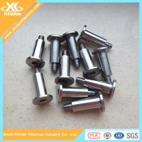 China Customized Titanium Hex Socket Flat Head Screws wholesale