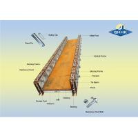 Buy cheap 200 Type Prefabricated Steel Bailey Bridge With Galvanized Or Painted Surface from wholesalers