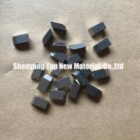 China Stellite Material Log / Frozen Wood Cutter Tool Teeth High Temperature Resistance wholesale