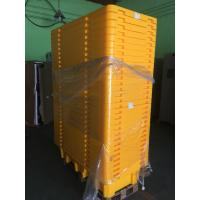 China Four Drum Spill Containment Pallets , HDPE Oil Drum Containment Pallet Stackable wholesale