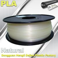 China Smooth PLA Transparent Filament 1.75mm /  3.0mm 3D Printing Filament wholesale