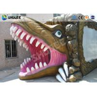China Mini Cinema 5D Simulator Movie Theatre With Dinosaur Design Cabin wholesale