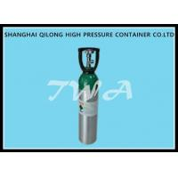 China 10L AA6061 Aluminum Gas Cylinder / refillable aluminum oxygen tank wholesale