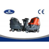 China Model Floor Washers Scrubbers Machine , Double Brush Hard Floor Cleaner Machine wholesale