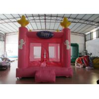 Colourful Custom Big Bouncy Castle , Kids Indoor Inflatable Bouncer Fire Resistance