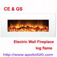 China White 50inch Electric Wall Fireplace wholesale