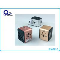China UK / AUS / USA Plug USB Power Adapter , Portable Usb Electrical Outlet Adapter wholesale