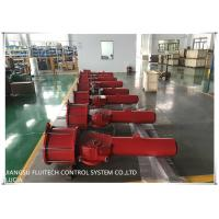 China Double Single Acting Pneumatic Actuator , Scotch Yoke Actuator Heavy Duty On Off Type wholesale